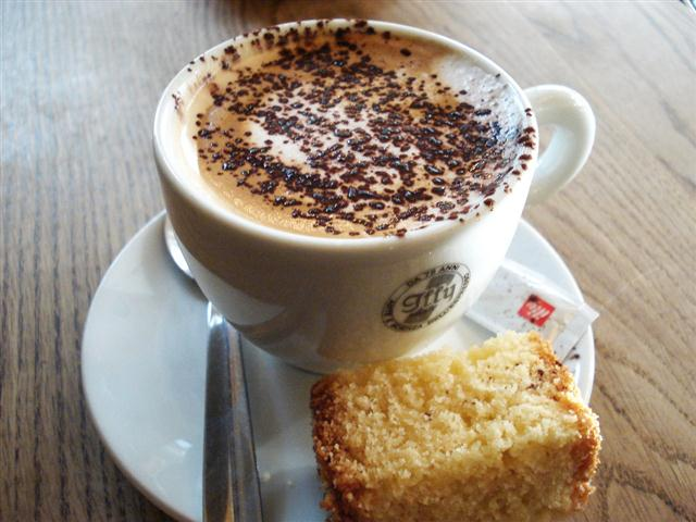 Cappuccinos, espressos and paninis